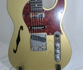 Justin's Brent Mason gold thinline, S-N- 201028 002