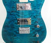 Quilted Turquoise Freeze Tele, S-N- 201034 002